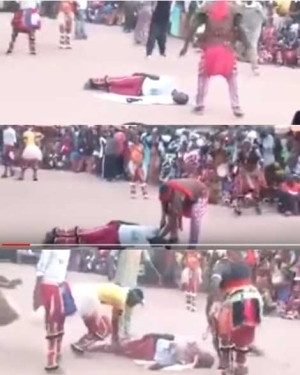 Voodoo in Action: Watch How African Juju Priests Publicly Beheaded a Man and Brought Him Back to Life (Photos)